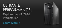 HP Z820 Workstation for high performance computing.