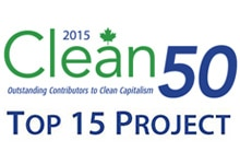 "HP's ""closed loop"" plastic recycling program recognized as one of Canada's top 15 projects by the Clean 50."