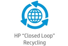 HP closed loop recycling process