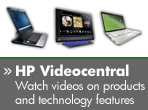HP Videocentral - Watch videos on products and technology features