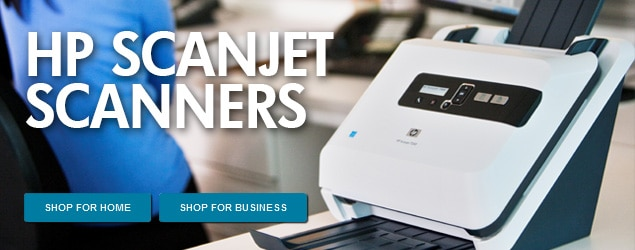 HP SCANJET SCANNERS. SHOP FOR HOME. SHOP FOR BUSINESS