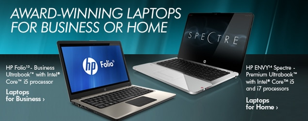 AWARD-WINNING LAPTOPS FOR BUSINESS OR HOME