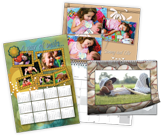 Imprima calendarios personalizados con HP Photo Creations