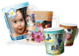 Design custom photo mugs with HP Photo Creations