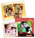 Imprima livros de fotos e páginas de scrapbook com HP Photo Creations
