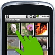 Choose an existing photo or capture a picture by tapping the camera icon