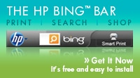 The HP Bing Bar - Get it now. It's free and easy to install