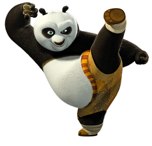 Respect Po, the Dragon Warrior! (Kung Fu Panda ...