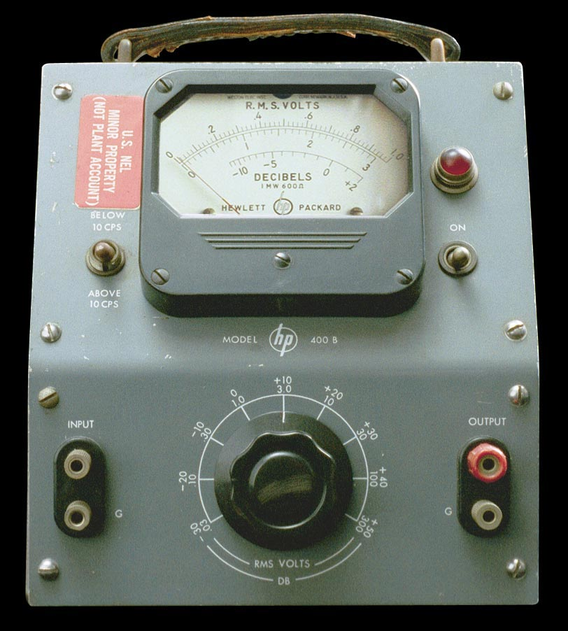 Model 400B Vacuum Tube Voltmeter - front view.