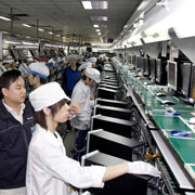 Image of an assembly line
