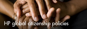 HP global citizenship policies
