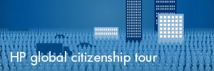 HP global citizenship tour