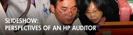Slideshow: HP audit in action