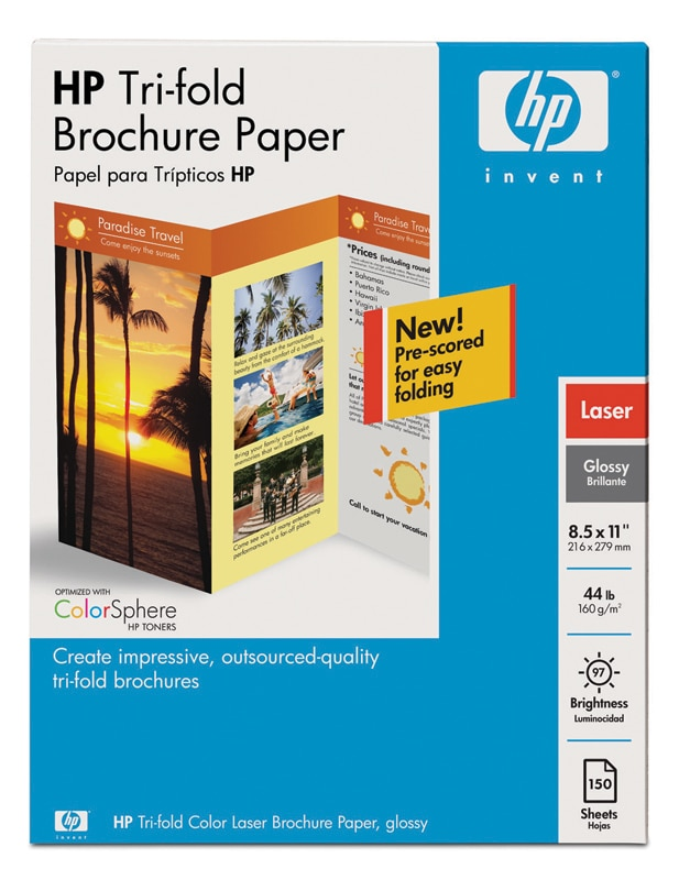 Hp press kit 2008 macworld conference expo for Hp tri fold brochure template