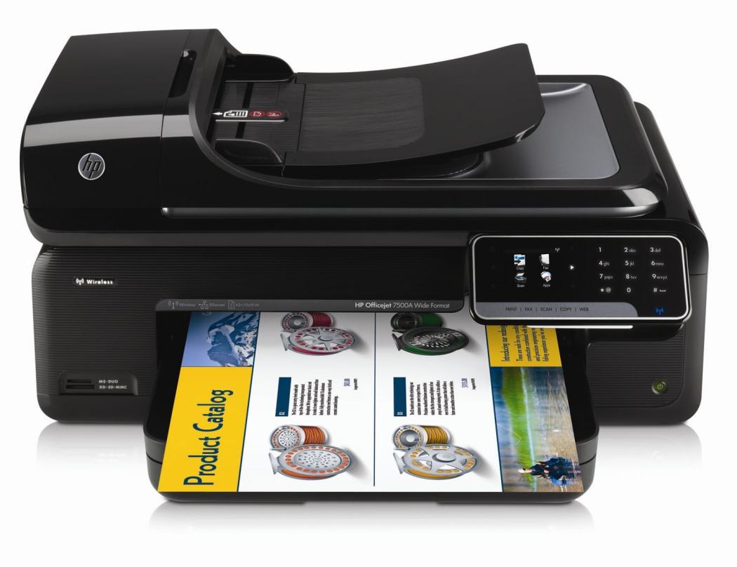 HP Officejet 7500A Printer – E910a All-in-One Printer Drivers download free