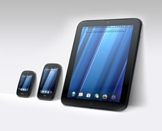 HP TouchPad, Pre3, Veer (Credit: HP)