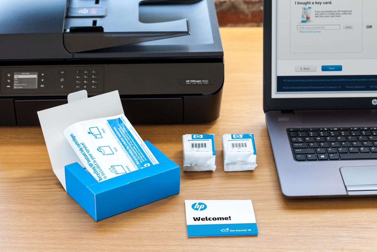 HP Press Kit: HP Instant Ink