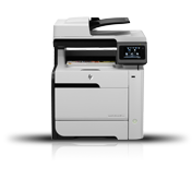 Image of HP LaserJet Pro CM1415fn Color Multifunction Printer