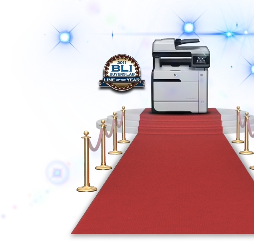 Once again Buyers Laboratory Inc. named HP the 2011 Color Printer Line of the Year.