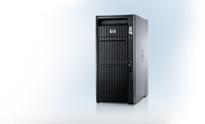 HP Z800 Quad Core Xeon workstation