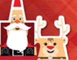 Caixa com Papai Noel
