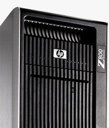 HP Z800 Industrial Design