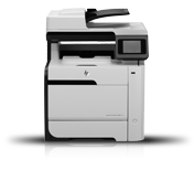 Image of HP LaserJet Pro CP1025nw Color Printer