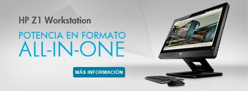 HP Workstation. Potencia en Formato All In One