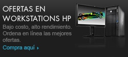 Ofertas en Workstations HP.