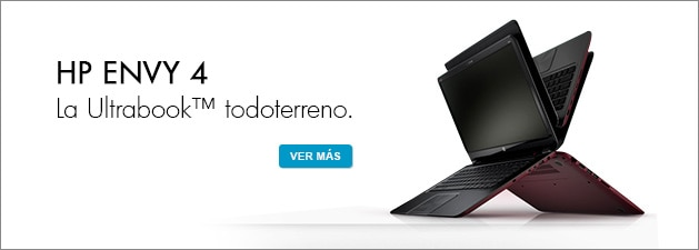HP ENVY4 La UltrabookTM todoterreno