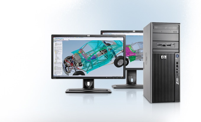 Z400 3D Graphics Workstations