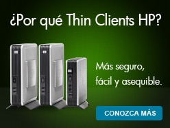 ¿Por qué Thin clients Hewlett-Packard? Más seguro, ácil y asequible.