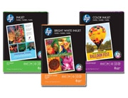 Trio of HP inkjet papers