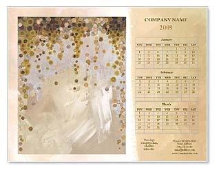 Коллекции бесплатных шаблонов для календарей и брошюр