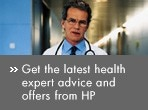 Get the latest health expert advice and offers from HP