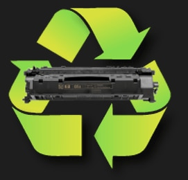 Recycle Original HP printer toner cartridges