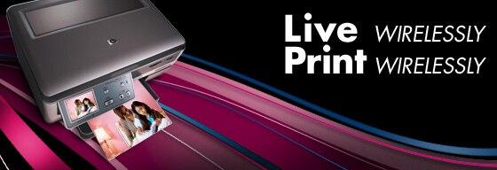 Live Print. Wirelessly