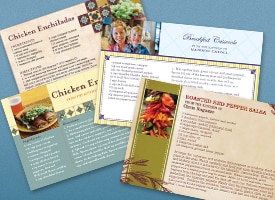 family recipe cards
