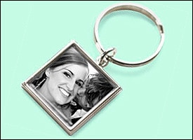 Photo key chain from Snapfish