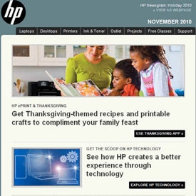 Picture of HP Newsgram