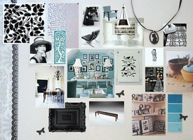 Design inspiration board