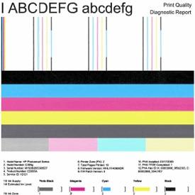 Printer test pdf
