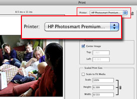 Choosing a photo printer