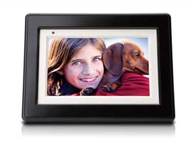 An HP Digital Picture Frame.