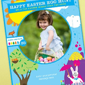 Picture of Easter photo card