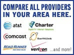 Compare all providers in your area here