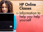 Information to help you help yourself - HP online classes