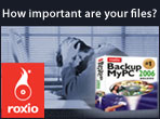 How important are your files? Roxio BackupMyPC 2006