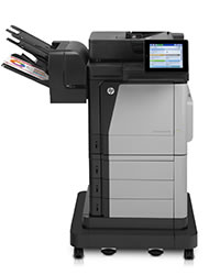 Impresora multifunción HP Color LaserJet Enterprise Flow M680f