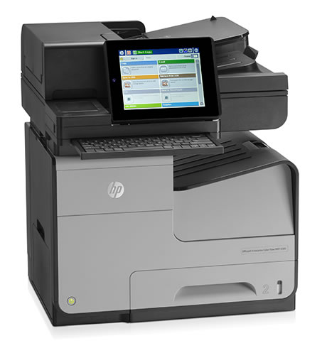 Impresora multifunción HP Officejet Enterprise Color X585z